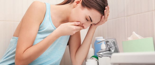 الغثيان و القيء، <p></p><br>الاسباب و العلاج  و يب طب