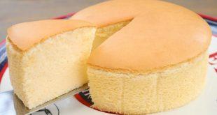 الكيكة القطنية في القدر العادي على الغاز حياك