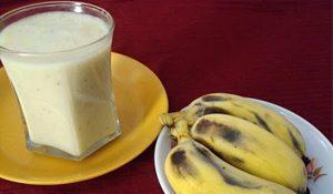 رجيم الموز والحليب 8 كيلو